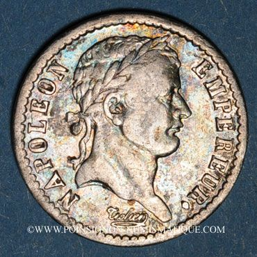 Münzen 1er empire (1804-1814). 1/2 franc REPUBLIQUE 1808A