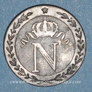 Münzen 1er empire (1804-1814). 10 cmes 1809Q. Perpignan