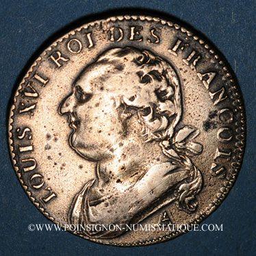 Französische Moderne Münzen Constitution 1791 1792 12 Deniers