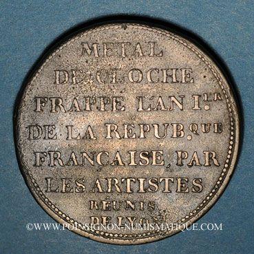 Münzen Convention (1792-1795). Essai à l'effigie de Mirabeau