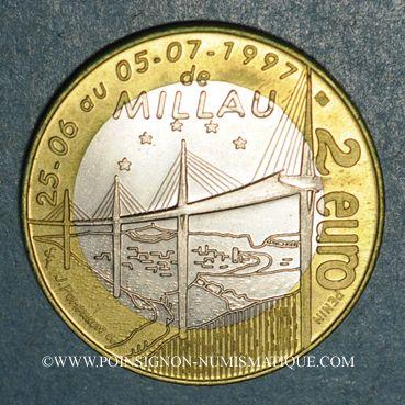 Münzen Euro des Villes. Millau (12). 2 euro 1997