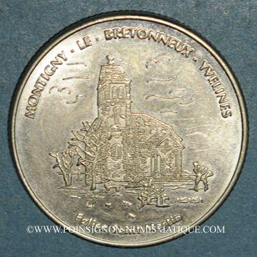 Münzen Euro des Villes. Montigny-le-Bretonneux (78). 3 euro 1997