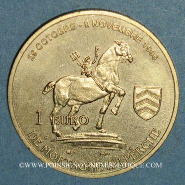 Münzen Euro des Villes. Mortagne-au-Perche (61). 1 euro 1996