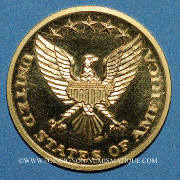 Münzen Gold Medaillen Etats Unis John Et Robert Kennedy Médaille