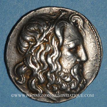 Münzen Royaume de Macédoine. Antigone Doson (229-221 av. J-C). Tétradrachme