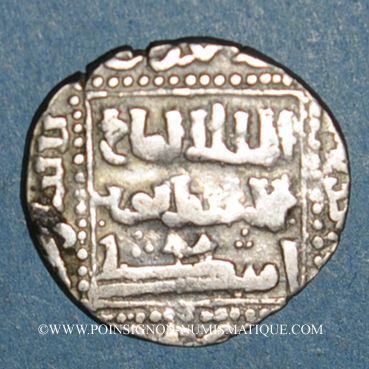 Münzen Egypte. Mamelouks Bahrites. Aybak (648-655H). Dirham 654H, Le Caire