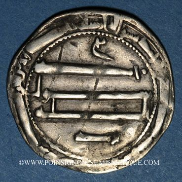 Münzen Maghreb. Abbassides. al-Mahdi (158-169H). Dirham 1(6)9H ?, al-'Abbassiya
