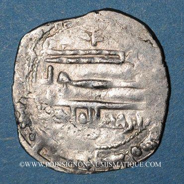 Münzen Maghreb. Idrissides. Ibrahim b. al-Qasim (vers 270-290H). Dirham 280 H, al-Basra (Maroc)