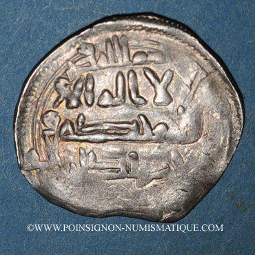 Münzen Maghreb. Idrissides. Ibrahim b. al-Qasim (vers 270-290H). Dirham, atelier : ?