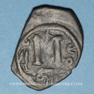Münzen Syrie. Monnayage pseudo-byzantin (638-c.670). Follis, buste impérial