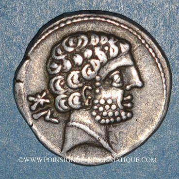 Münzen Celtibérie. Bolskan. Denier, début 2e siècle av. J-C