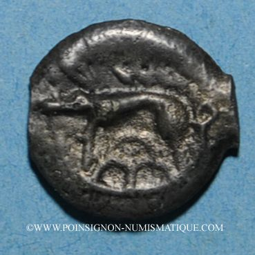 Münzen Leuques (région de Toul) (fin du 2e siècle - 1ère moitié du 1er siècle av. J-C). Potin, classe II