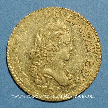 Münzen Louis XV (1715-1774). Louis d'or aux 2 L 1722A. Réformation