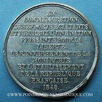 Münzen Revolutionäre Urkunden Und Krieg Von 1870 Révolution De 1848