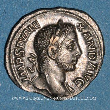 Münzen Alexandre Sévère (222-235). Denier. Rome, 231. R/: la Fidélité militaire