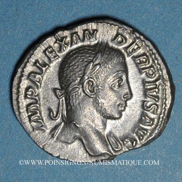 Münzen Alexandre Sévère (222-235). Denier. Rome, 231. R/: la Prévoyance