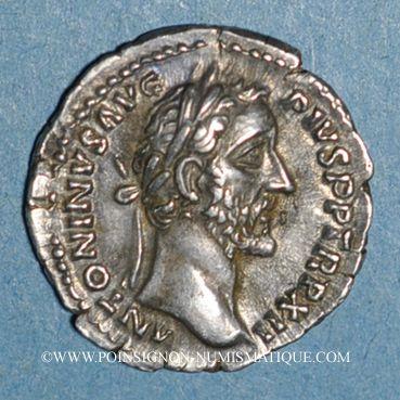 Münzen Antonin le Pieux (138-161). Denier. Rome, 148-149. R/: la Félicité