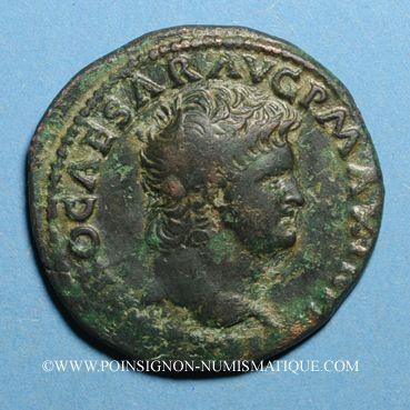 Münzen Néron (54-68). As. Lyon, 66. R:/ Victoire