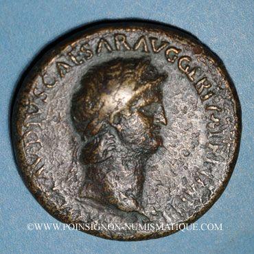 Münzen Néron (54-68). Sesterce. Rome, 64. R/: Cérès assise à gauche