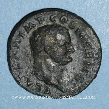 Münzen Titus, césar (69-79). As. Rome, 74. R/: la Victoire