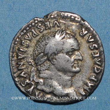 Münzen Vespasien (69-79). Denier. Rome, 76. R/: la Paix