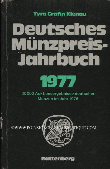 Second hand books Klenau. Deutsches Münzpreis-Jahrbuch 1977