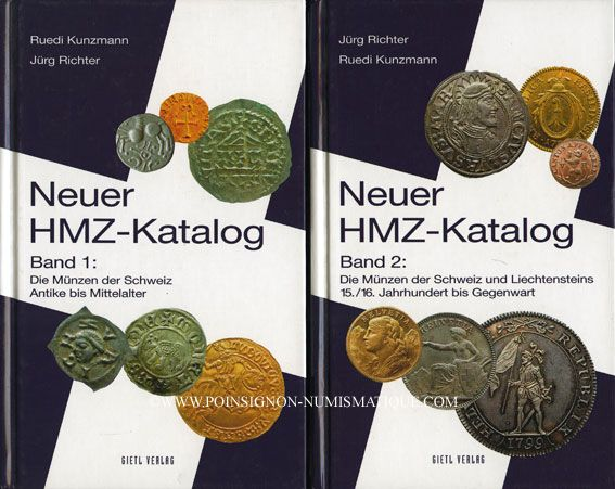 Second Hand Books Numismatic Books Kunzmann R Richter J Neuer
