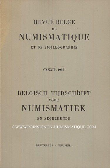 Second hand books Revue Belge de Numismatique. 1986