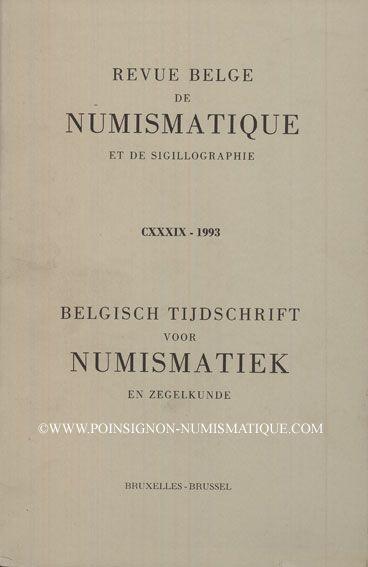 Second hand books Revue Belge de Numismatique. 1993