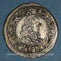 Coins Abbaye de Murbach et Lure. Léopold Guillaume (1626-1662). Kreuzer