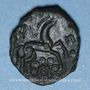 Coins Ambiani (région d'Amiens) (vers 60 - 30/25 av. J-C). Bronze à la grande rosace
