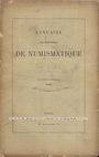 Antiquarischen buchern Annuaire de la Société Française de Numismatique. Tome 13. 1889