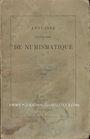 Antiquarischen buchern Annuaire de la Société Française de Numismatique. Tome 14. 1890