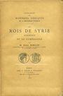 Antiquarischen buchern Babelon E. - Les rois de Syrie, d'Arménie et de Commagène. 1890.