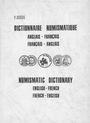 Antiquarischen buchern Bourg P., Dictionnaire numismatique : Anglais-Français / Français-Anglais
