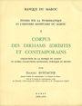 Antiquarischen buchern Etudes sur la numismatique du Maroc - Corpus des dirhams Idrisites et contemporains