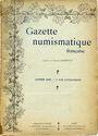 Antiquarischen buchern Gazette numismatique française. Année 1906 (complet)