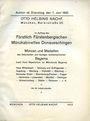 Antiquarischen buchern Helbing O., Munich. Auktions Katalog n° 67 du 07.06.1932