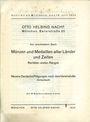 Antiquarischen buchern Helbing O., Munich. Auktions Katalog n° 76 du 18.07.1934