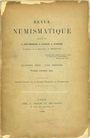 Antiquarischen buchern Revue numismatique. 1909, complet en 4 livraisons