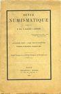 Antiquarischen buchern Revue numismatique. 1930. 3e et 4e trimestre