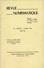 Antiquarischen buchern Revue numismatique. 1966