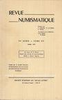 Antiquarischen buchern Revue numismatique. 1973
