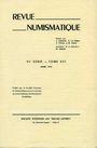 Antiquarischen buchern Revue numismatique. 1974