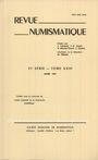 Antiquarischen buchern Revue numismatique. 1981