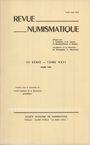 Antiquarischen buchern Revue numismatique. 1984