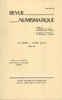 Antiquarischen buchern Revue numismatique. 1985