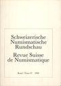 Antiquarischen buchern Revue suisse de numismatique. 1988