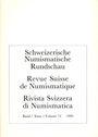 Antiquarischen buchern Revue suisse de numismatique. 1995