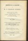Antiquarischen buchern ROBERT - (collection, monnaies de Lorraine). Vente Rollin/Feuardent du 29 mars 1886 et jours ss
